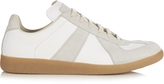 Maison Margiela Replica low-top leather and suede trainers
