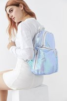 Urban Outfitters Jina Metallic Crinkle Backpack