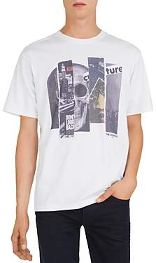 The Kooples Collage Graphic Tee