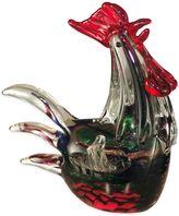 Dale Tiffany Dale TiffanyTM Rooster Art Glass Figurine