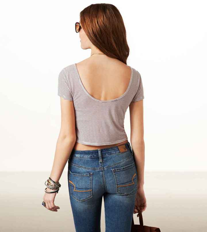 American Eagle AE Cropped T-Shirt
