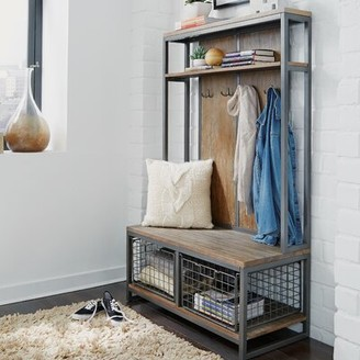 17 Stories Eckles Hall Tree with Bench and Shoe Storage