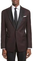 Armani Collezioni Men's Trim Fit Wool Dinner Jacket