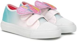 Billieblush Miami Fun gradient-effect sneakers