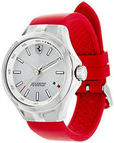 Ferrari Women's Red Silicone Strap Donna Watch