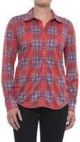 Caribbean Joe Fine-Knit Shirt - Button Front, Long Sleeve (For Women)