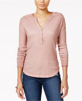Sanctuary Brando Waffle-Knit Henley, a Macy's exclusive style