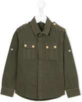 Balmain Kids military shirt