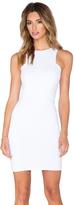 Donna Mizani Front Panel Mini Dress