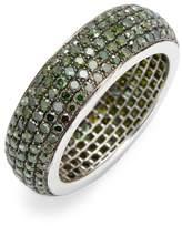 Artisan Women's Pave Diamond Eternity Band Ring