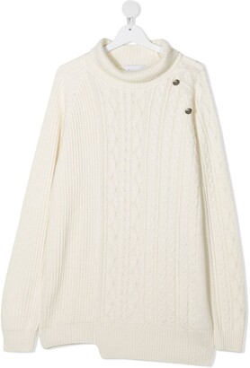 Dondup Kids TEEN cable knit jumper