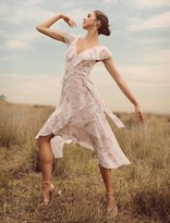 Ever New Keira Ruffle Midi Dress