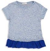Pinc Premium Little Girl's Ruffled Hem Dress