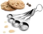 Nambe Gourmet Twist Measuring Spoons