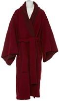 Krizia Red Wool Coat for Women
