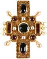 One Kings Lane Vintage Chanel Byzantine Cross Brooch
