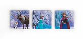 Disney Set of 3 Frozen Scene Canvas Wall Art - Blue