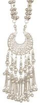 Stephan & Co Metal Fringe Pendant Necklace