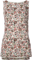 ADAM by Adam Lippes floral tank top