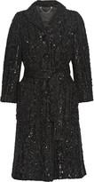 Marc Jacobs Sequined bouclé coat