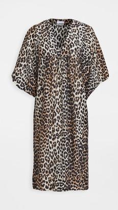 Ganni Cotton Silk Dress