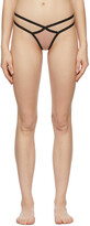Thumbnail for your product : Agent Provocateur Pink Full Joan Thong