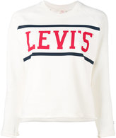 Levi's logo print sweatshirt - women - Cotton - S