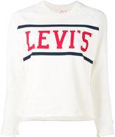 Levi's logo print sweatshirt
