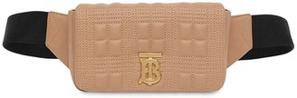 Burberry Mn Lola Bumbag Smooth Leather Quilted Check