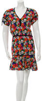 Veronica Beard Silk Floral Dress w/ Tags