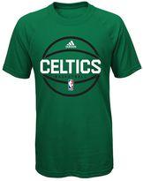 adidas Boys 8-20 Boston Celtics climalite Practice Tee