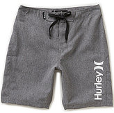 Hurley Big Boys 8-20 Heathered One and Only Boardshorts