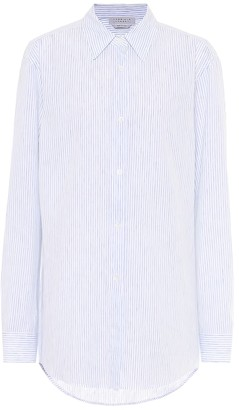 Gabriela Hearst Reyes striped cotton and linen shirt