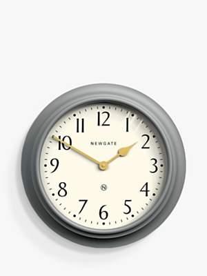 Newgate Clocks Westhampton Large Wall Clock, Dia.50cm, Posh Grey