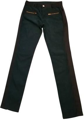 Madame à Paris Khaki Trousers for Women