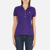 Polo Ralph Lauren Women's Julie Polo Shirt Chalet Purple