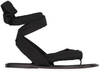 Ganni Recycled Tech Fabric Sandals