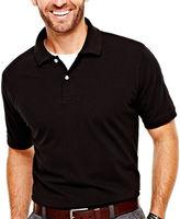 ST. JOHN'S BAY St. John's Bay Legacy Piqu Polo Shirt