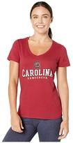 Champion College South Carolina Gamecocks University V-Neck Tee (Garnet 1) Women's T Shirt