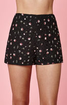 KENDALL + KYLIE Kendall & Kylie Embroidered Floral Soft Shorts