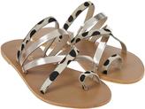 Accessorize Jillian Animal Cross Strap Sandals