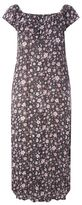 Evans Pink Ditsy Floral Gypsy Maxi Dress