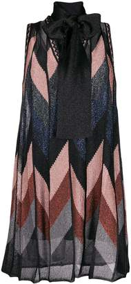 M Missoni sleeveless lurex dress