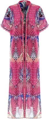 Paolita Pavo Real Maxi Kimono