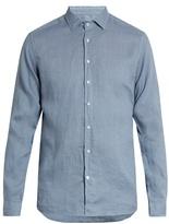 Etro Button-cuff Linen Shirt