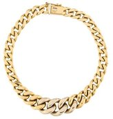 Chimento Graduated Curb Chain Bracelet