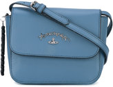 Vivienne Westwood flap crossbody bag - women - Leather - One Size