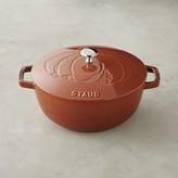 Staub Cast-Iron Essential French Oven, Pumpkin Design
