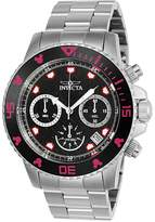 Invicta Mickey Mouse Silvertone Watch - Men