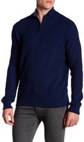 Calvin Klein Ribbed Knit 1/4 Zip Sweater